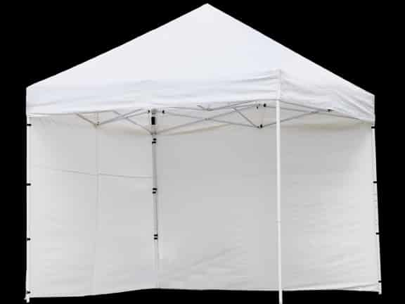 Canopy, Pop Up Sidewall White