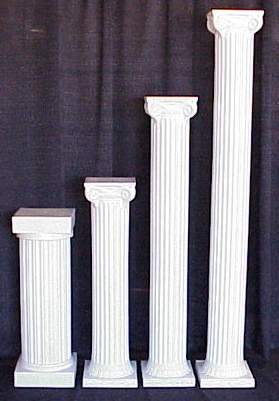 Rent A 34 Quot White Column For Your Wedding At All Seasons