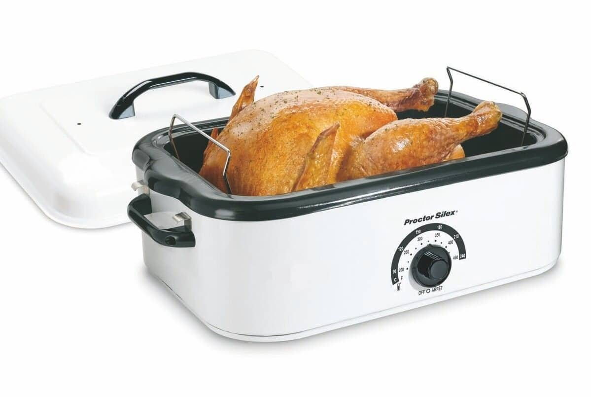 Rent An 18 Quart Electric Roaster Oven For Your Party At All Seasons Rh Asrentall Com 24 Qt 8 Roasters