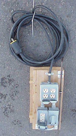 generator break out box