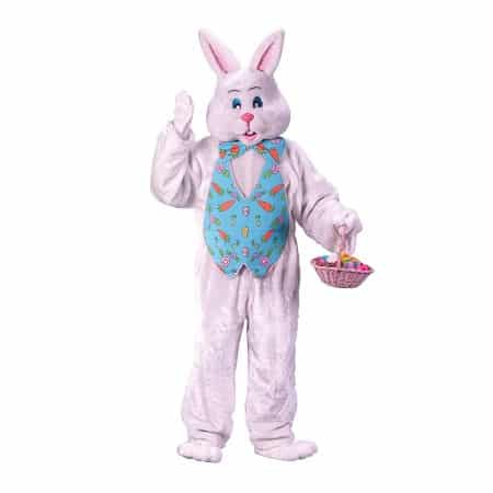 bunny rabbit costume with blue vest