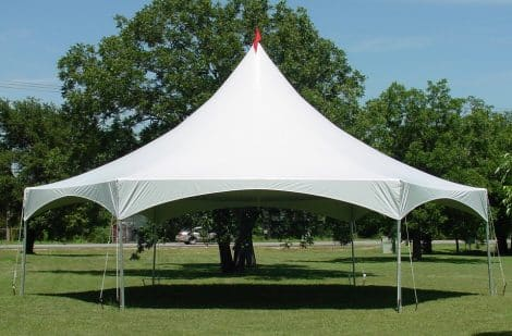 hexagon marquee canopy
