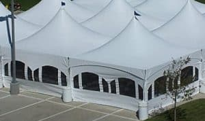 marquee sidewall with windows