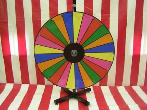 Dry Erase Prize Wheel