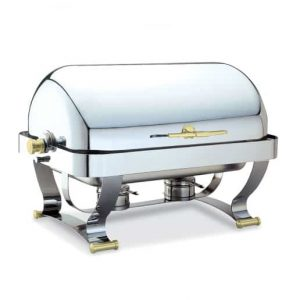 oblong rolltop chafing dish