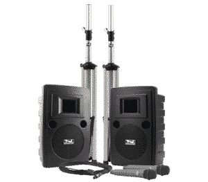 portable deluxe sound system