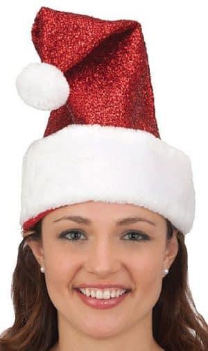 Santa Metalic Hat