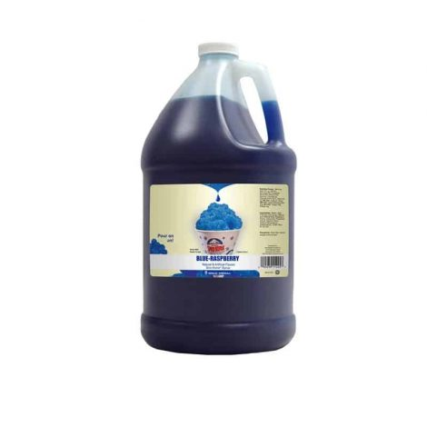 blue raspberry snow cone syrup