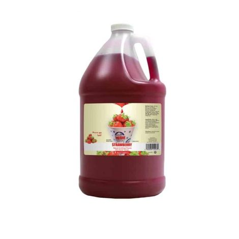 strawberry snow cone syrup