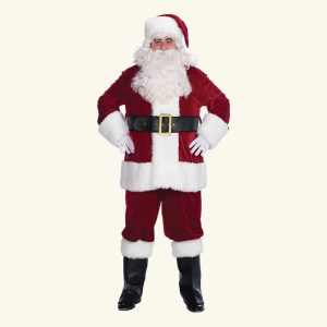 santa clause suit.